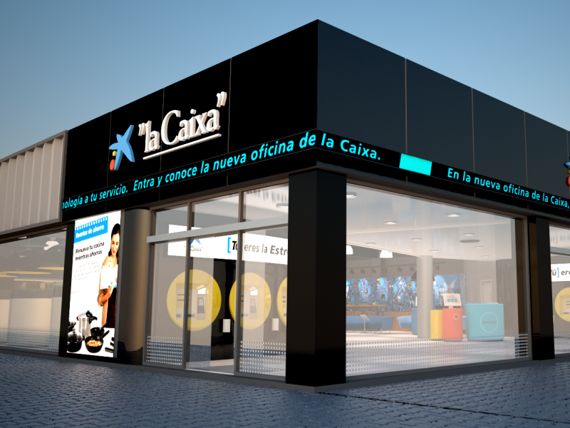 La Caixa New Branch Design Proposal