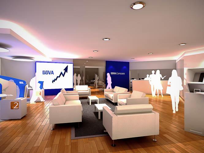 BBVA Compass New Branches Concept  USA 2013