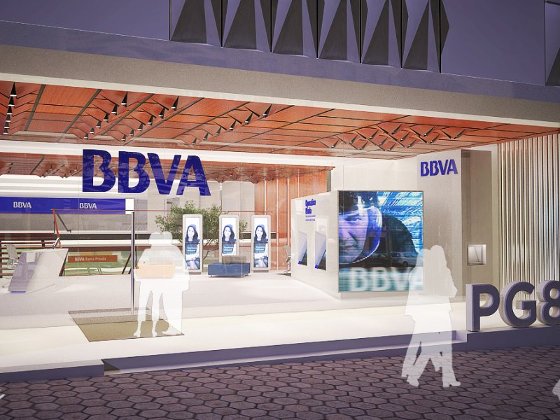 BBVA branch in Pº. de Gracia 84