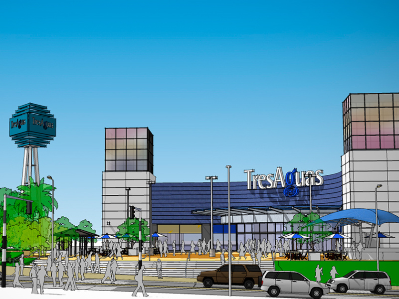 Tres Aguas Mall's New Access