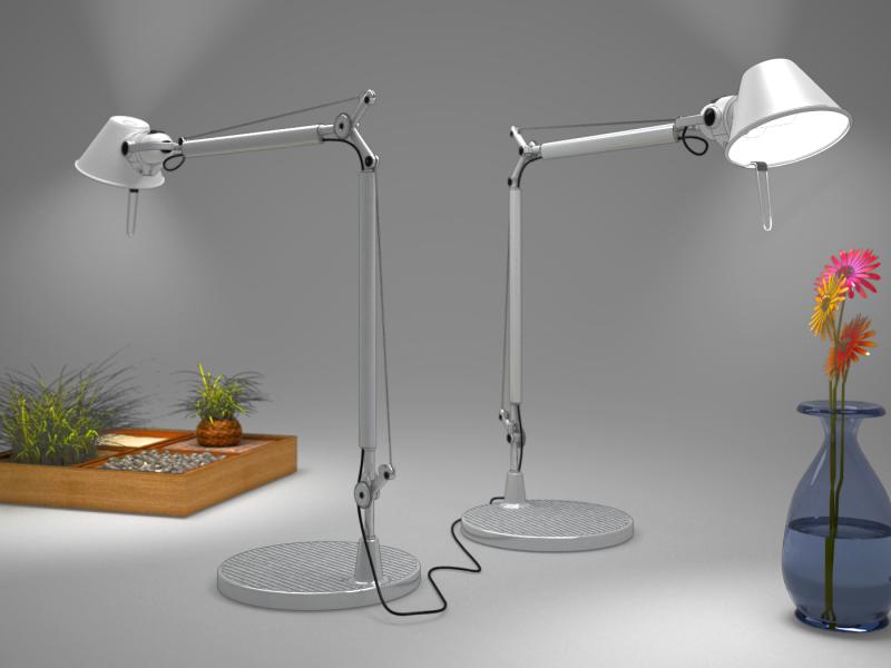 Tolomeo lamp 1986