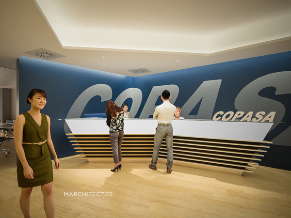 New Copasa offices in Madrid.